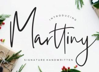 Marttiny Font