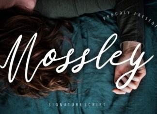 Mossley Font