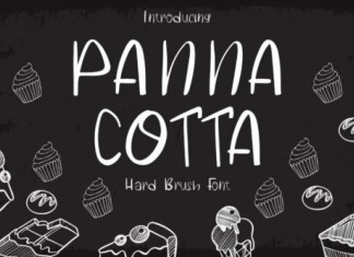 Panna Cotta Font