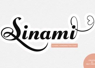 Sinami Font
