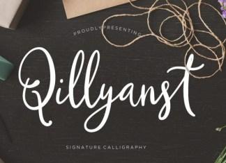 Qillyanst Font
