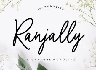 Ranjally Font