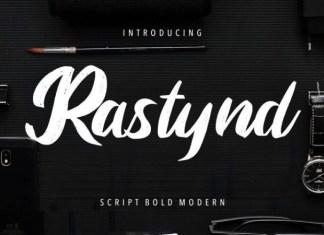 Rastynd Font