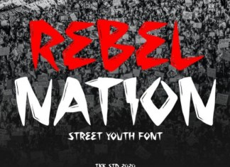 Rebel Nation Font