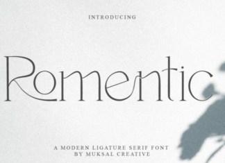 Romentic Font