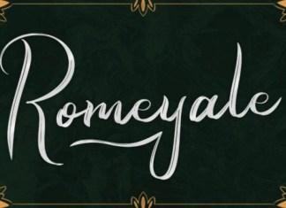 Romeyale Font