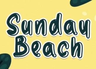 Sunday Beach Font