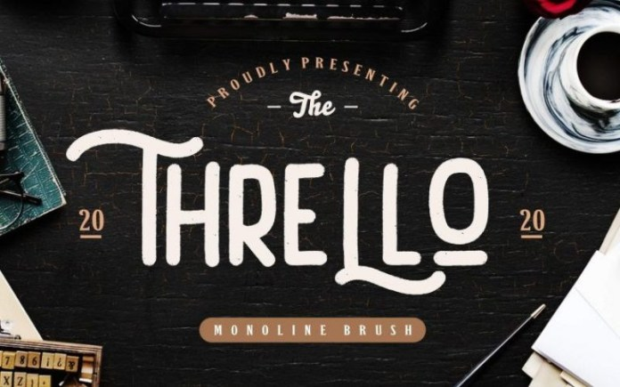 Thrello Font