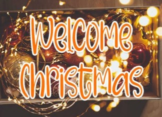 Welcome Christmas Font