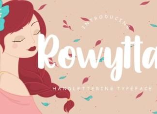 Rowytta Font