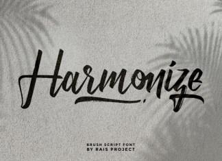 Harmonize Font