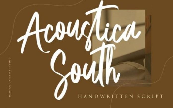 Acoustica South Font