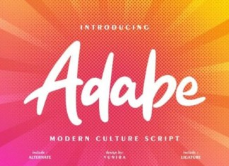 Adabe Font