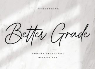 Better Grade Font