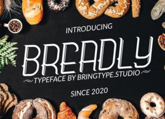 Breadly Font