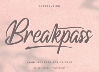 Breakpass Font