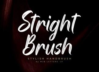 Stright Font