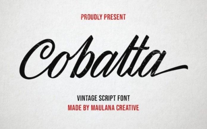 Cobalta Font