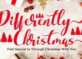 Differently Christmas Font
