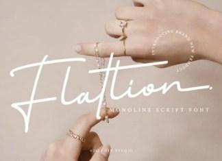 Flatlion Font