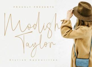 Modish Taylor Font