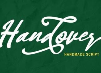 Handover Font