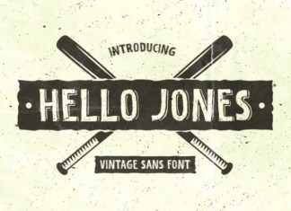 Hello Jones Font