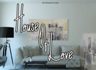 House of Love Font