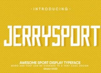 JerrySport Font