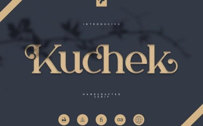 Kuchek Font