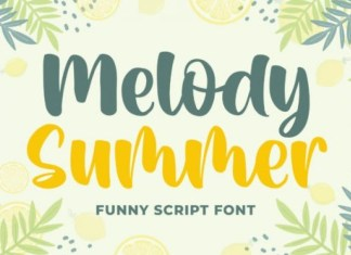 Melody Summer Font