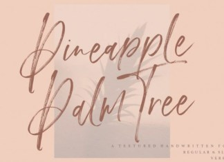 Pineapple Palm Font