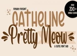 Pretty Meow Font