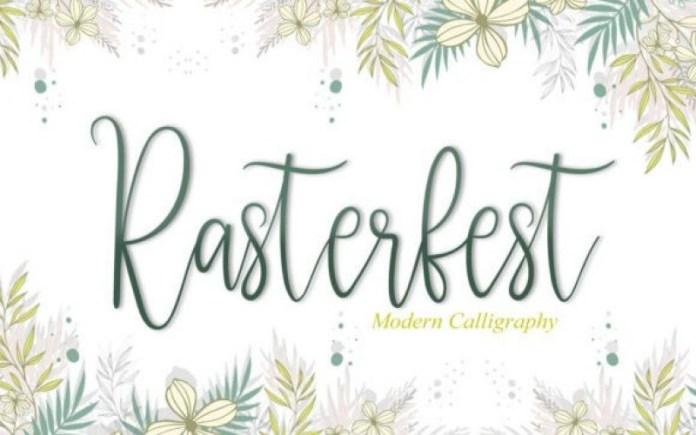 Rasterfest Font