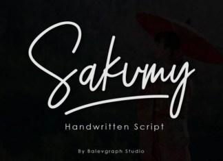 Sakumy Font
