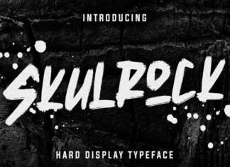 Skulrock Font