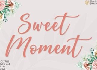 Sweet Moment Font