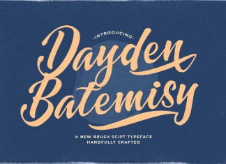 Dayden Batemisy Font