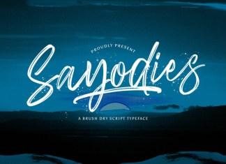 Sayodies Font