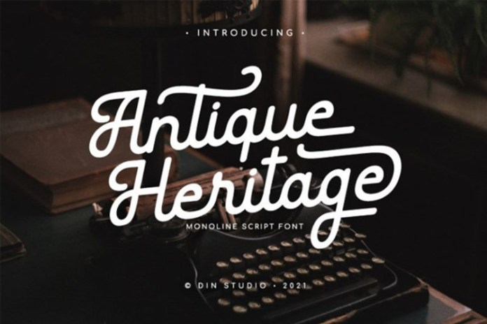 Antique Heritage Font