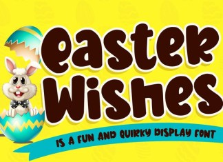 Easter Wishes Font