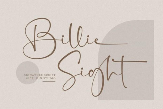Billie Sight Font