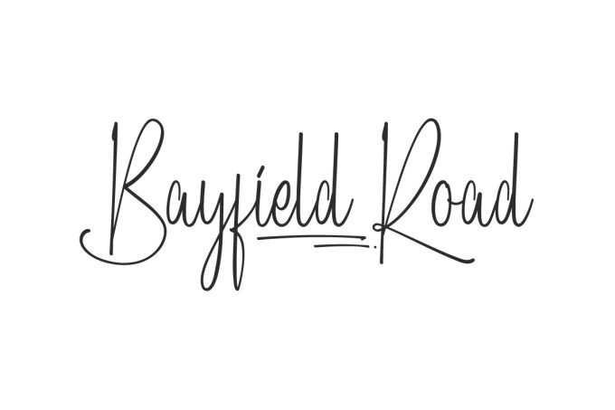 Bayfield Road Font