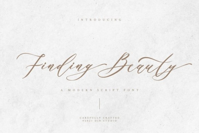 Finding Beauty Font