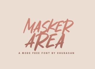 Masker Area Font