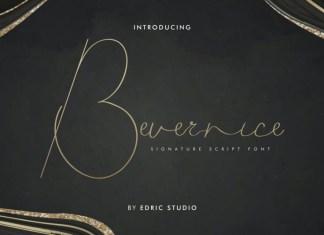 Bevernice Font