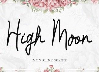 High Moon Font