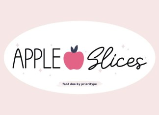 Apple Slices Font