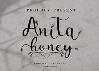 Anita Honey Font