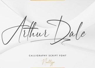 Arthur Dale Font